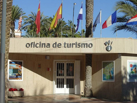 The Tourist Office in Aguilas