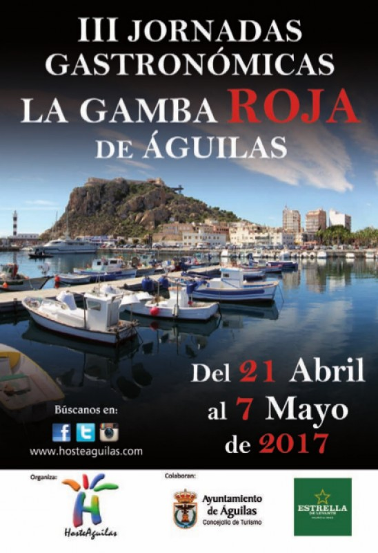 21st April to 7th May red prawn gastronomic event in Aguilas