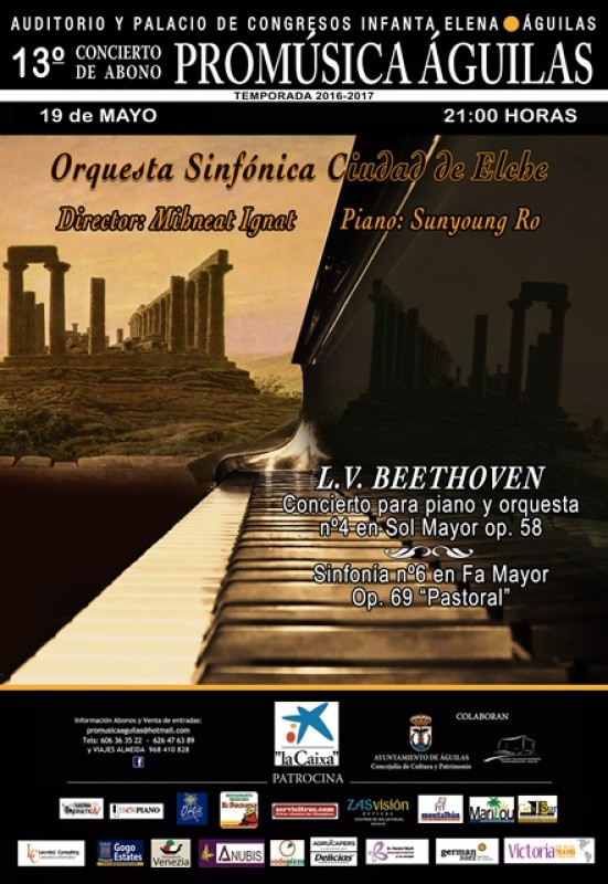 19th May Elche Symphonic Orchestra in the Águilas Auditorium