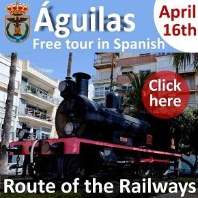 Aguilas Railway Tour 16th April