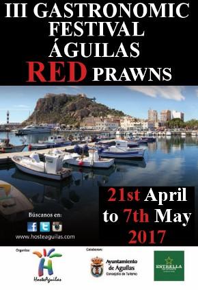 Águilas Red Prawn festival