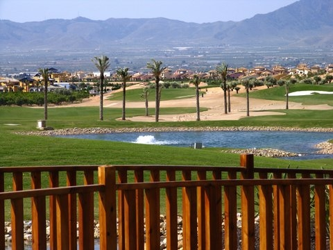 Where is the Hacienda del Álamo Golf Resort?