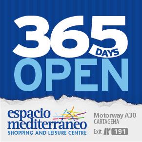 Espacio Mediterráneo shopping centre Cartagena Murcia