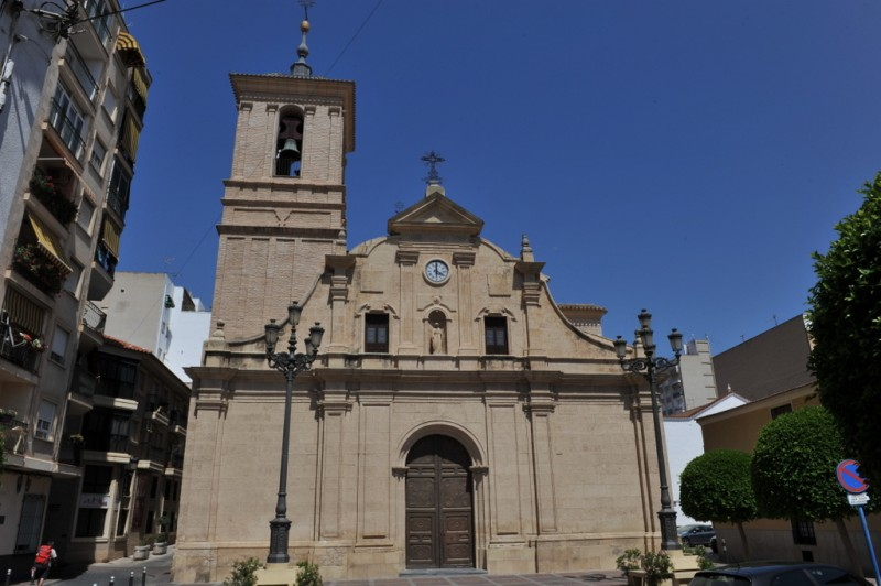 The church of Nuestra Señora de la Asunción in Molina de Segura
