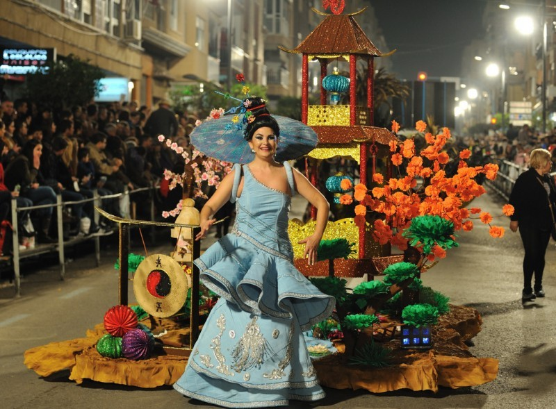 <span style='color:#780948'>ARCHIVED</span> - 3rd to 24th February 2018 Carnival in Águilas
