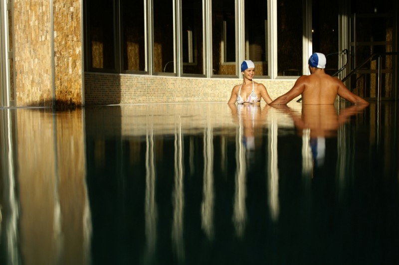 The Balneario de Archena thermal spa baths and hotel complex