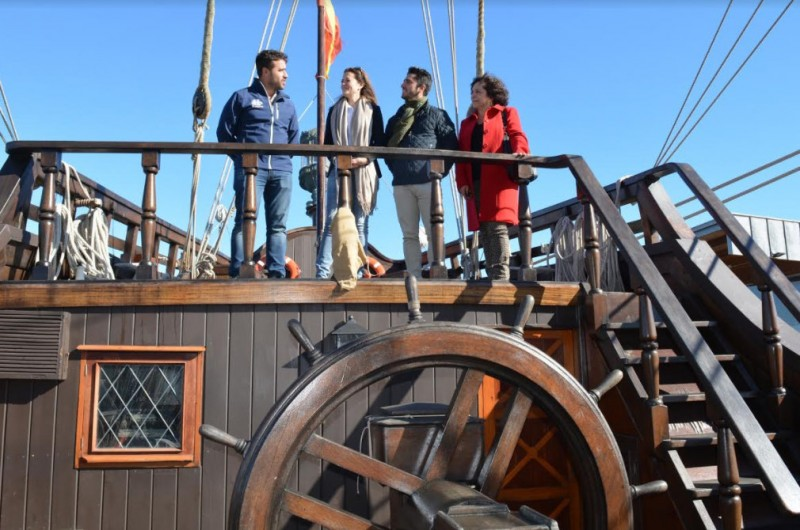 <span style='color:#780948'>ARCHIVED</span> - Historic Spanish galleon in Águilas port until Sunday