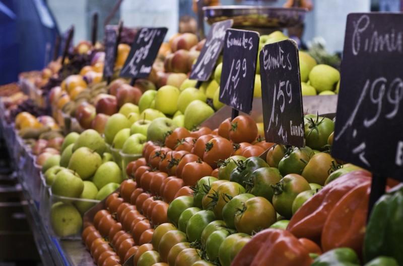 Weekly street market in Cabo de Palos