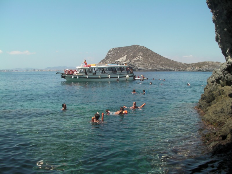 Boat trips from La Manga with Solaz Lines