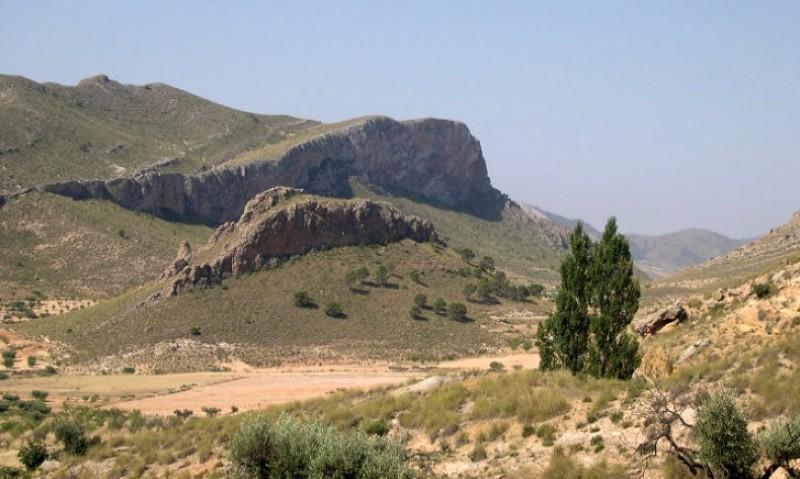 Walking in Sierra de la Cingla in Jumilla