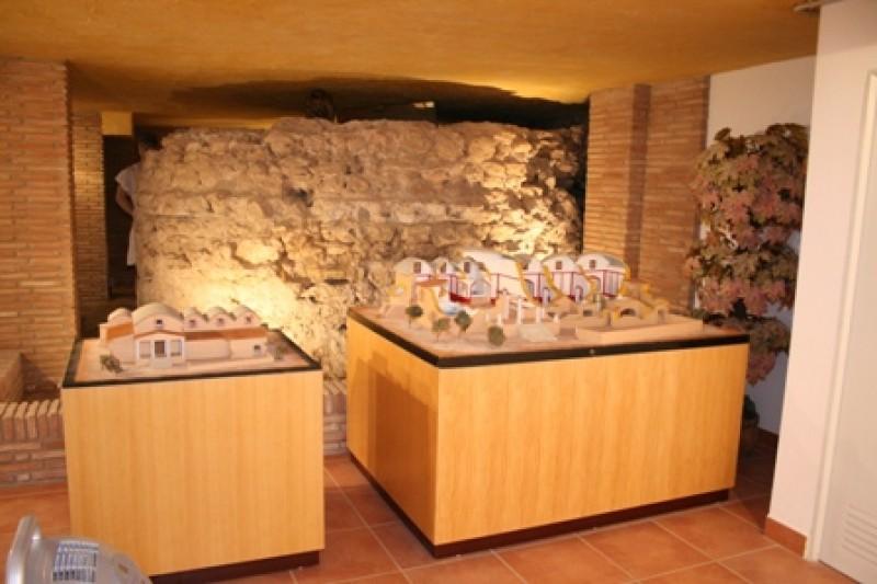 The Termas Romanas, the Roman baths in Águilas