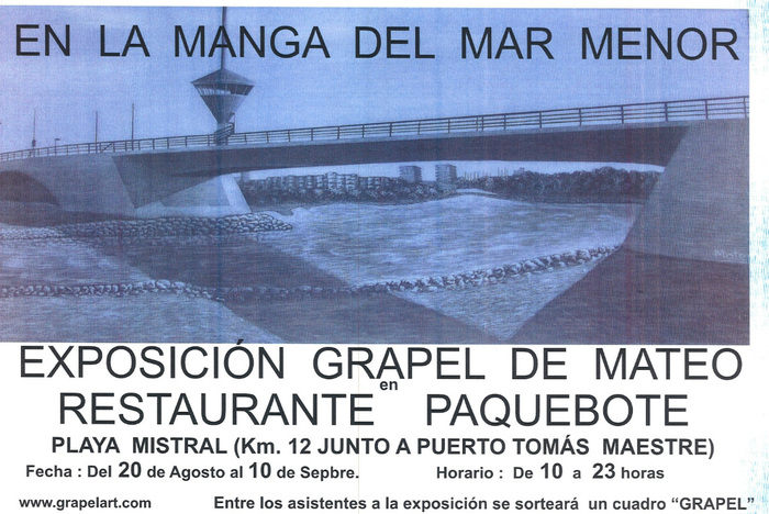 <span style='color:#780948'>ARCHIVED</span> - Grapel , by Mateo, at La Manga del Mar Menor