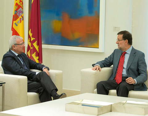 <span style='color:#780948'>ARCHIVED</span> - Murcia President discusses regional financing with the Prime Minister