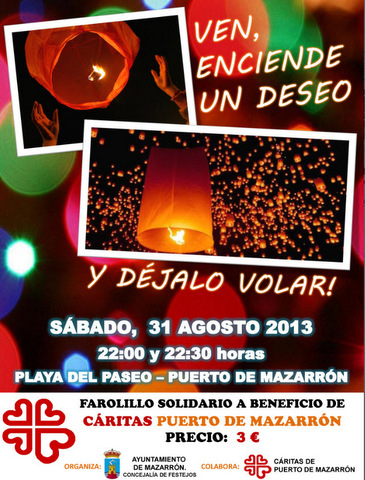 <span style='color:#780948'>ARCHIVED</span> - 31st August, fundraising activity Caritas, Puerto de Mazarron