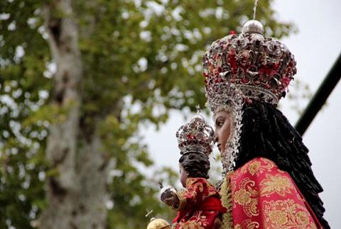 <span style='color:#780948'>ARCHIVED</span> - Murcia Feria begins with the arrival of the Virgen de la Fuensanta
