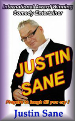 <span style='color:#780948'>ARCHIVED</span> - 26th October, Justin Sane at The New Royal, Puerto de Mazarron