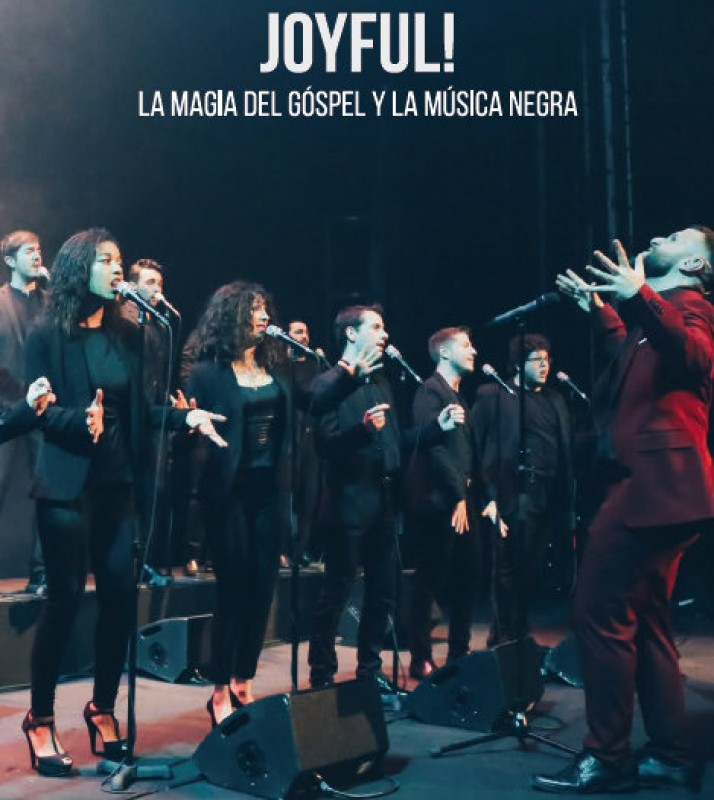 <span style='color:#780948'>ARCHIVED</span> - 12th January, Joyful! Gospel and Soul at the Teatro Guerra in Lorca