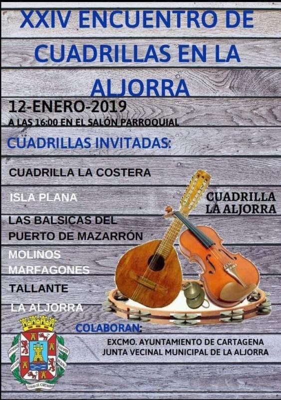 12th January 2019 La Aljorra celebrates its annual Encuentro de Cuadrillas