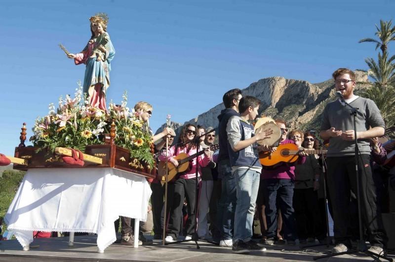 <span style='color:#780948'>ARCHIVED</span> - Sunday 13th January 2019 Romería of the Virgen de la Luz in El Cañar, Tallante Cartagena