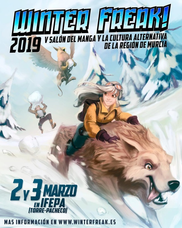 2nd and 3rd March, Winter Freak Japanese pop culture fair at the IFEPA in Torre Pacheco