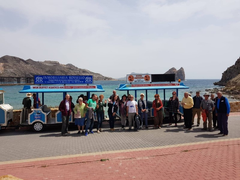<span style='color:#780948'>ARCHIVED</span> - 16th March Águilas: FREE ENGLISH language guided route of the railways tour