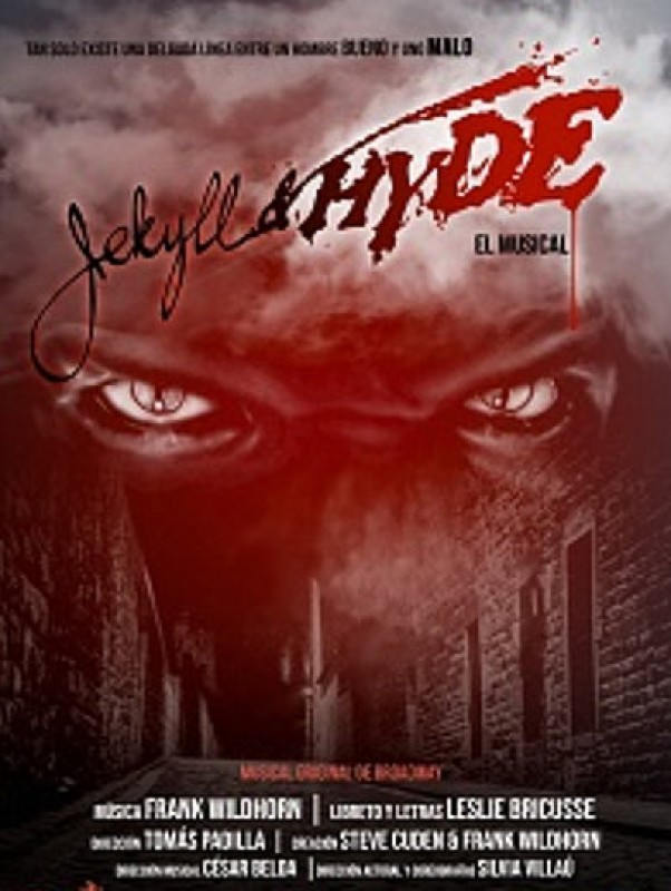 <span style='color:#780948'>ARCHIVED</span> - 1st to 3rd November, Jekyll and Hyde the musical at the Auditorio Víctor Villegas in Murcia