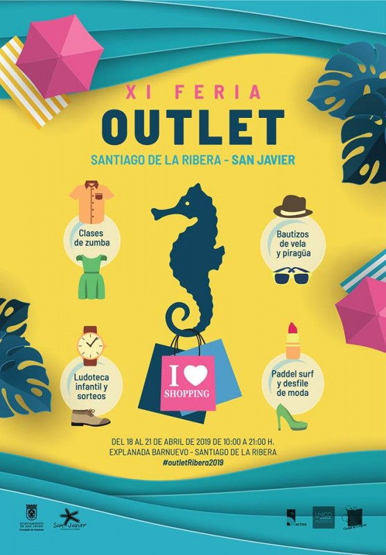 <span style='color:#780948'>ARCHIVED</span> -  18th to 21st April 2019 Outlet Fair in Santiago de la Ribera