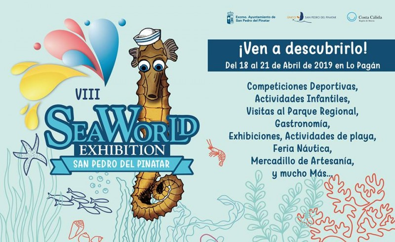 <span style='color:#780948'>ARCHIVED</span> - 18th to 21st April, Sea World Exhibition in San Pedro del Pinatar and Lo Pagán