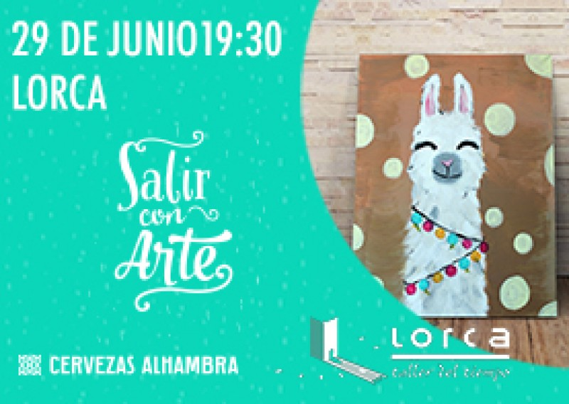 <span style='color:#780948'>ARCHIVED</span> - 29th June:Salir con Arte, make your own artwork in Lorca castle