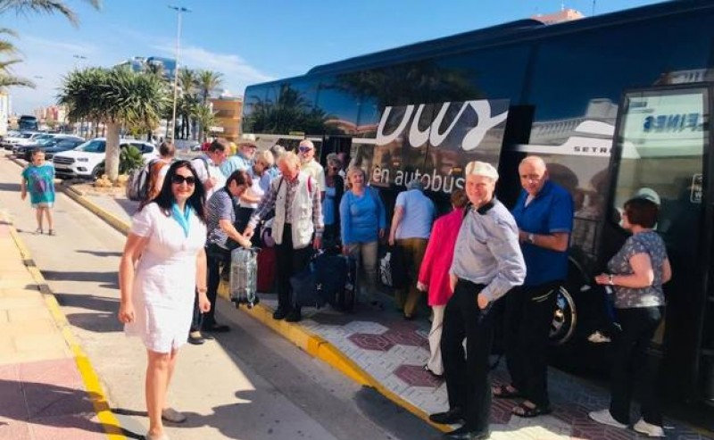 <span style='color:#780948'>ARCHIVED</span> - First Quality Tours packages of 2019 bring Czech tourists to La Manga, Mazarrón and the Mar Menor