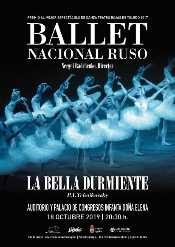 <span style='color:#780948'>ARCHIVED</span> - Friday 18th October Ballet Sleeping Beauty in Águilas