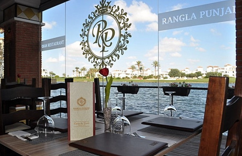 Authentic Indian cuisine at the Rangla Punjab restaurant in La Torre Golf Resort.