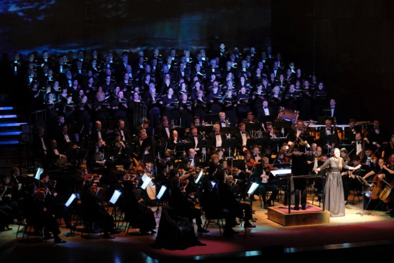 3rd April 2020 première of Stabat Mater by Moreno-Buendía at the Auditorio Víctor Villegas in Murcia