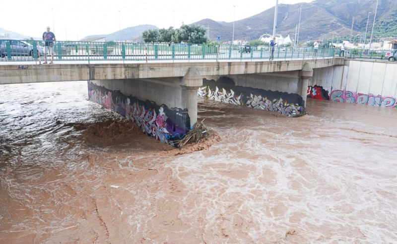 <span style='color:#780948'>ARCHIVED</span> - Mar Menor towns suffer the worst flooding as the gota fría storm recedes