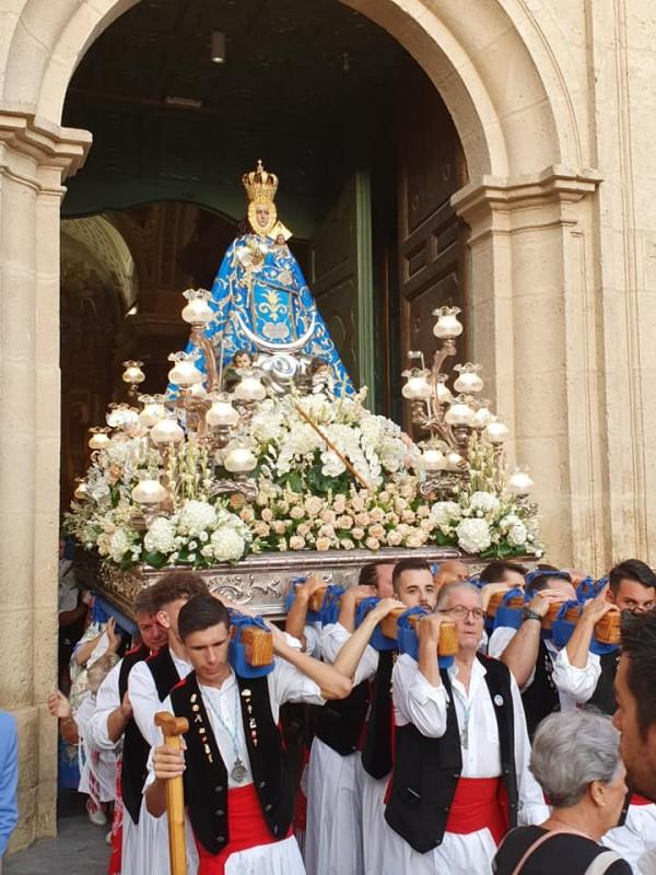 <span style='color:#780948'>ARCHIVED</span> - Molina de Segura moves on after the flood with the Romería of the Virgen de la Consolación