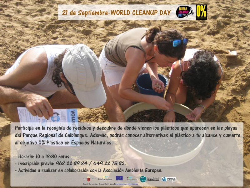 <span style='color:#780948'>ARCHIVED</span> - 21st September beach cleaning in Calblanque
