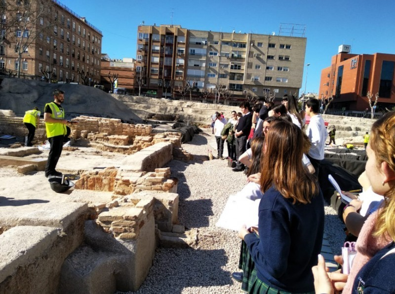 Until 10th December, free guided visits to the San Esteban archaeological dig in the centre of Murcia