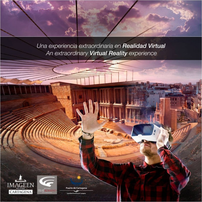 <span style='color:#780948'>ARCHIVED</span> - Saturdays and Sundays in October; Virtual reality tours of the Roman Theatre Museum in Cartagena
