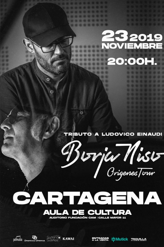 23rd November Cartagena Borja Niso in a tribute to Ludovico Einaudi