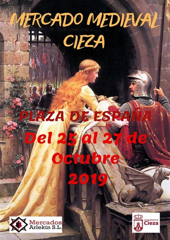 <span style='color:#780948'>ARCHIVED</span> - 25th to 27th October Cieza Mediaeval Market