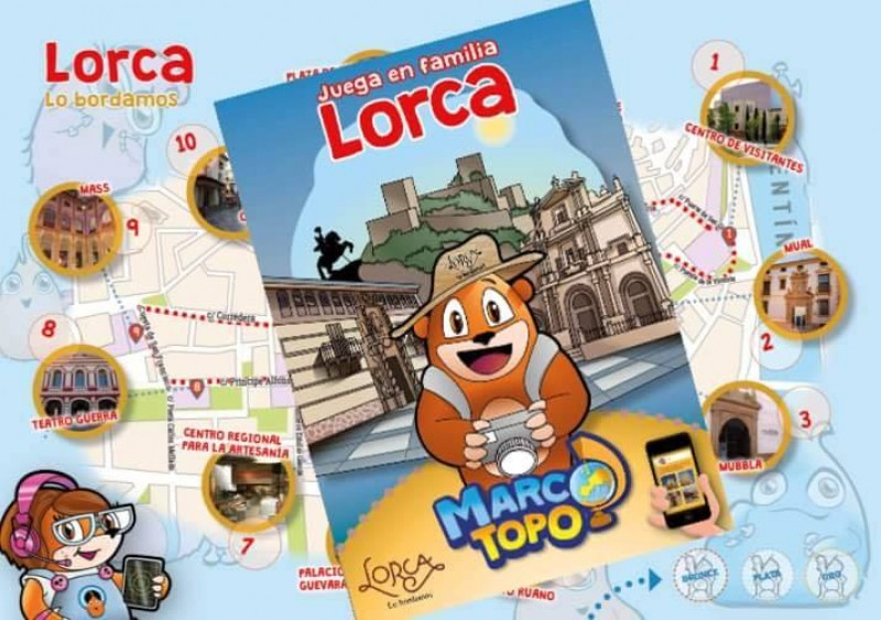 Marco Topo a free fun family game for visitors to Lorca
