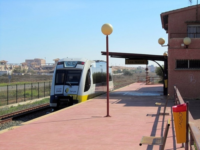 <span style='color:#780948'>ARCHIVED</span> - Cartagena-Los Nietos rail services resume 5 weeks after the gota fría flooding