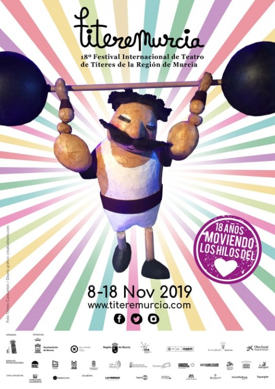 <span style='color:#780948'>ARCHIVED</span> - 8th to 18th November Titeremurcia puppet festival