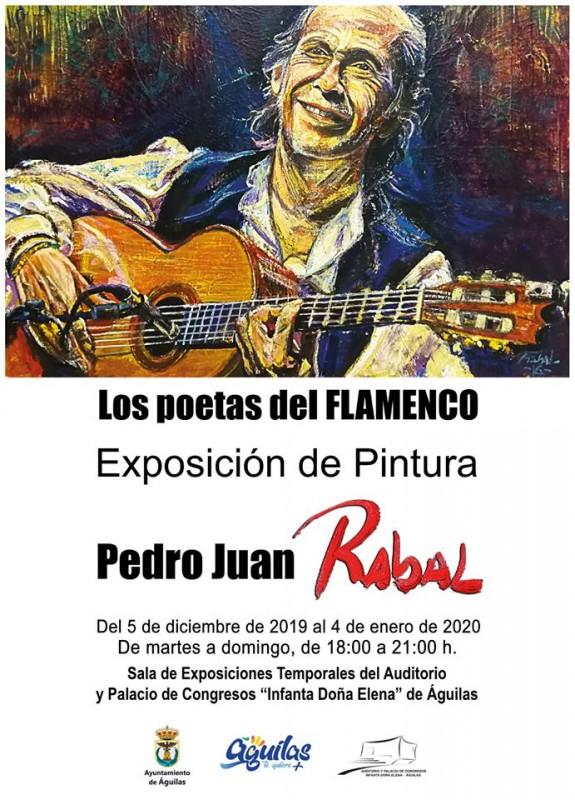 <span style='color:#780948'>ARCHIVED</span> - Exhibition Águilas: Los poetas del Flamenco