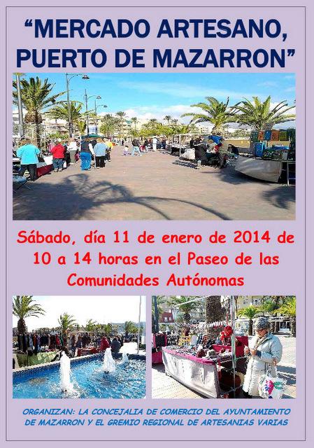 <span style='color:#780948'>ARCHIVED</span> - 11th January, Puerto de Mazarrón artisan market