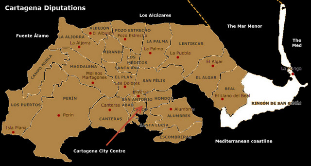 Where is Los Nietos