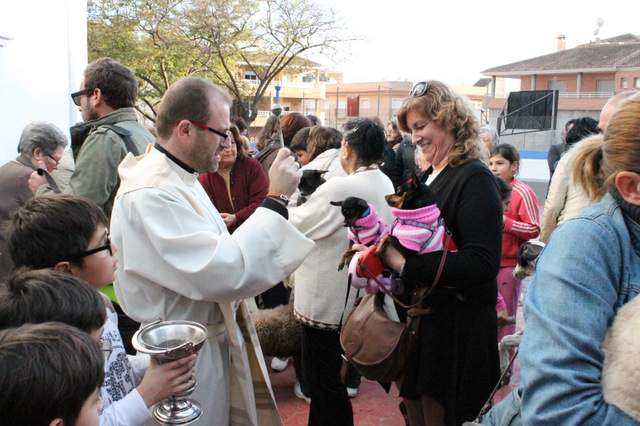 <span style='color:#780948'>ARCHIVED</span> - Blessing of the animals in Mazarron