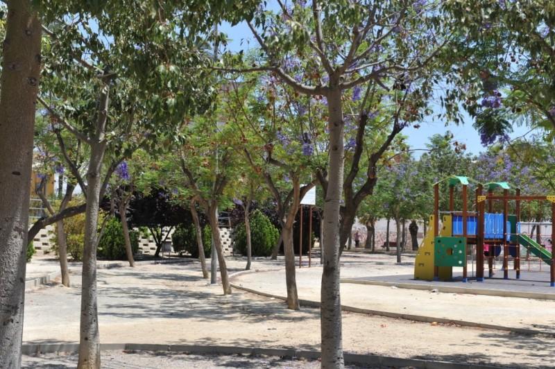 Huerto Fayren public park in Molina de Segura Plaza Concejo