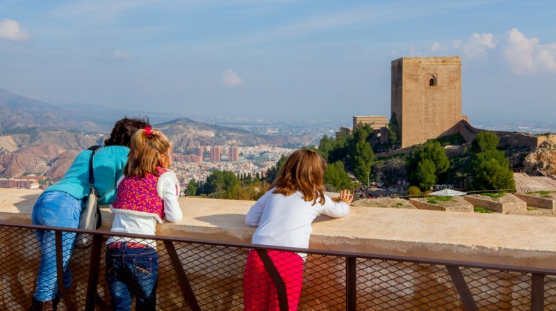 Saturday and Sunday family tours of Lorca castle Winter/Spring 2020