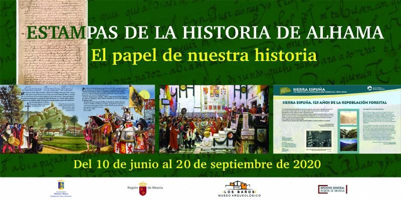 Exhibition: Estampas de la historia de Alhama in Alhama de Murcia